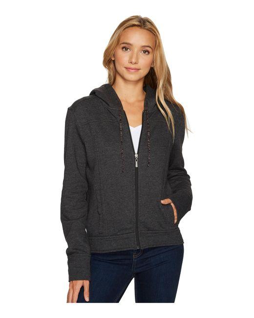 Prana | Black Ari Zip-up Fleece Jacket | Lyst