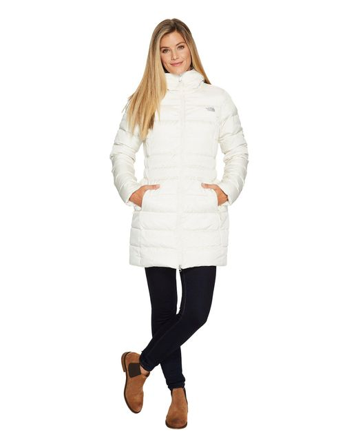 The North Face | White Gotham Parka Ii | Lyst
