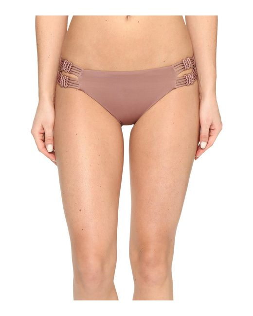 Dolce Vita | Multicolor Solids Macrame Bottom | Lyst