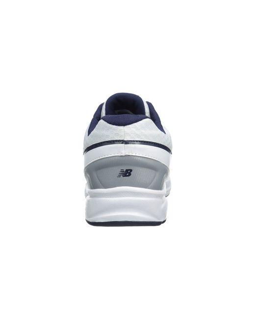 6f26592917f3d ... Lyst New Balance - White Mw411v2 (black) Men's Walking Shoes for Men ...