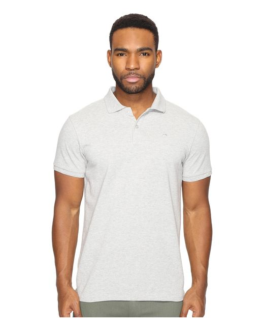 Scotch & Soda | White Classic Garment Dyed Pique Polo for Men | Lyst