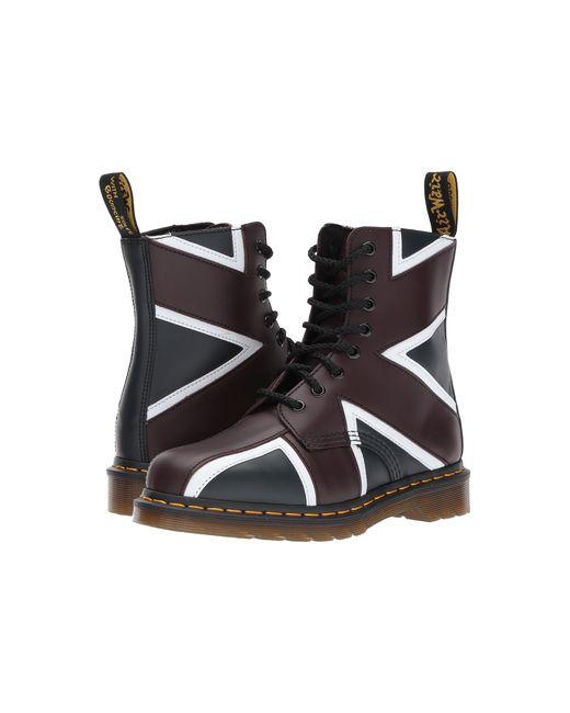 Dr. Martens | Multicolor Union Jack Pascal 8-eye Boot | Lyst