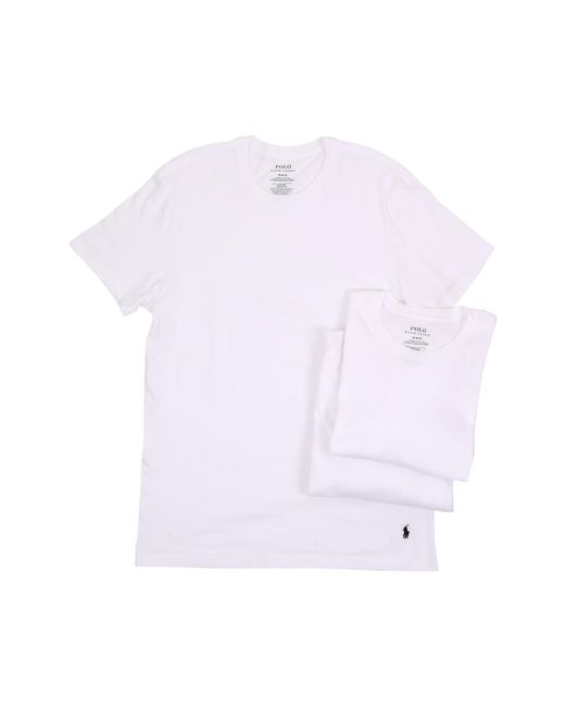 Polo Ralph Lauren | White 3-pack Crew T-shirt for Men | Lyst