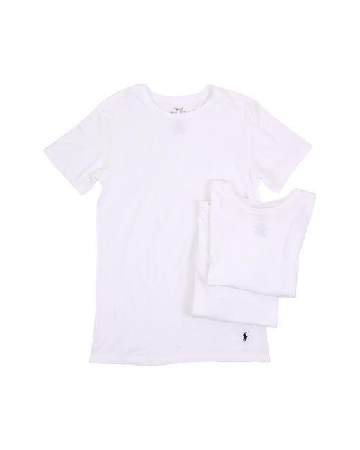 Polo Ralph Lauren | White 3-pack Slim Fit Crew for Men | Lyst