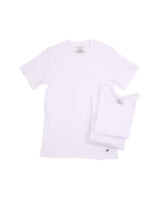 Tommy Hilfiger | White Cotton Classics Slim V-neck 3-pack for Men | Lyst