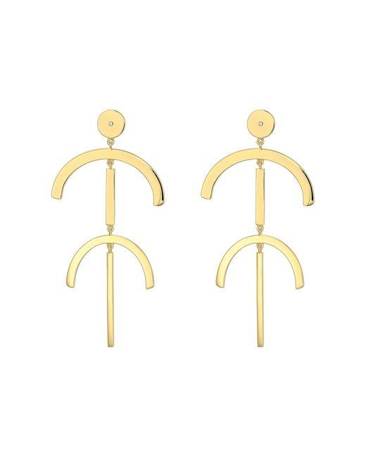 Elizabeth and James | Metallic Lulu Earrings | Lyst