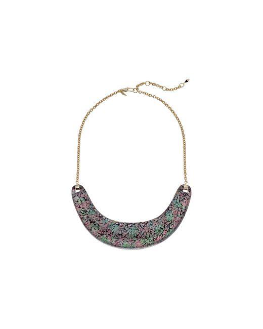 Alexis Bittar | Multicolor Crescent Bib Necklace | Lyst