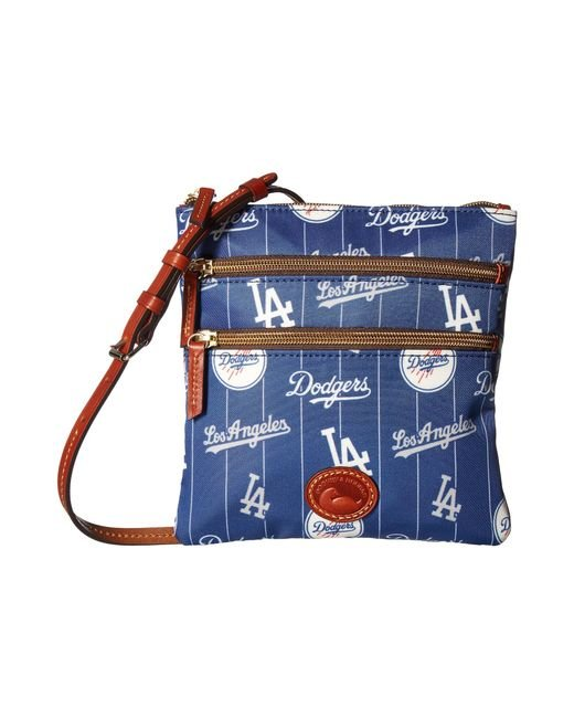 Dooney & Bourke | Blue Mlb North/south Triple Zip Crossbody Bag | Lyst