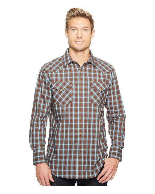 Pendleton | Brown Long Sleeve Frontier Shirt for Men | Lyst