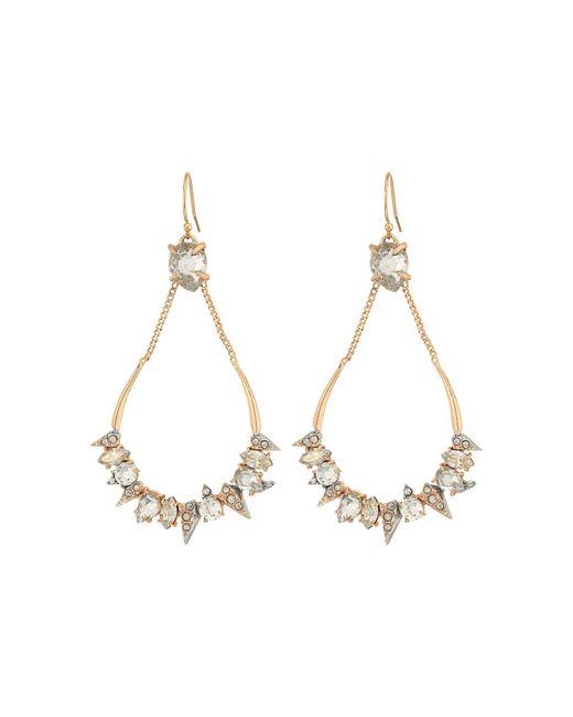 Alexis Bittar | Metallic Crystal Encrusted Mosaic Futuristic Tear Earrings | Lyst