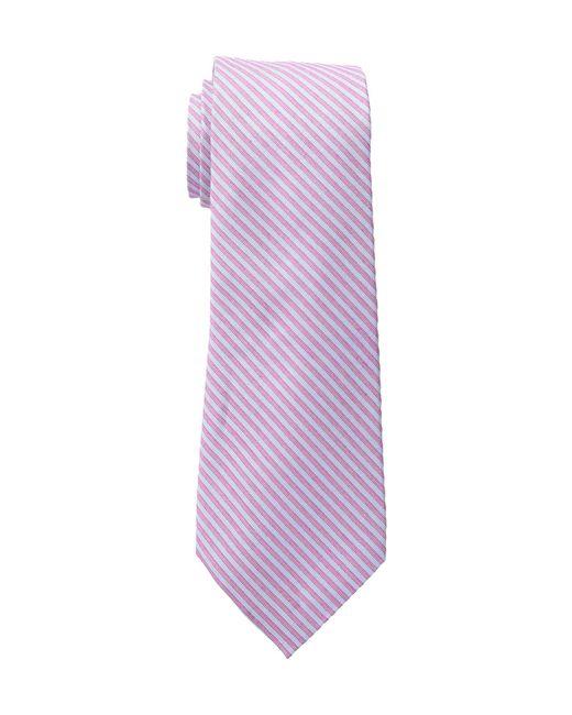 Lauren by Ralph Lauren | Multicolor Two Color Stripe Tie for Men | Lyst