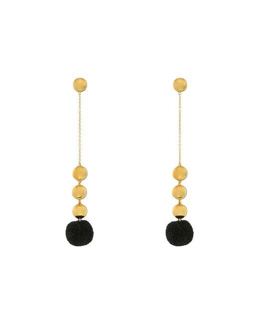 Elizabeth and James | Black Boca Earrings | Lyst