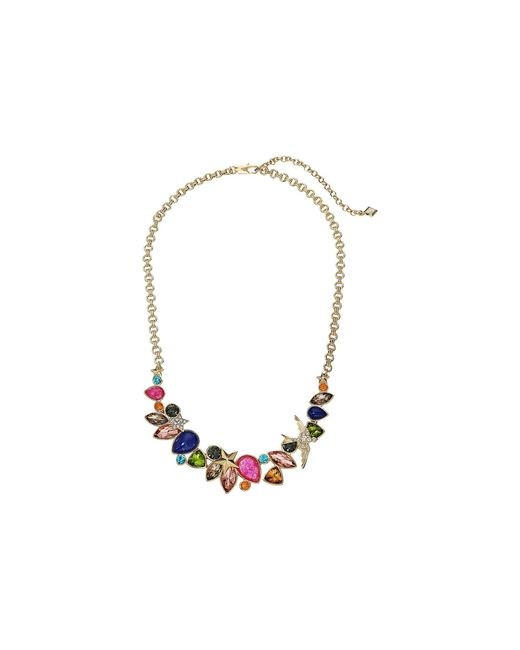 Vera Bradley | Metallic Holiday Confetti Statement Necklace | Lyst