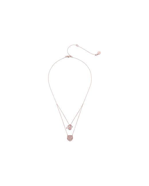 Michael Kors   Metallic Brilliance Circle Pendant Necklace   Lyst