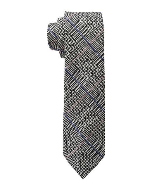 Lauren by Ralph Lauren | Black Glen Plaid Silk Tie for Men | Lyst