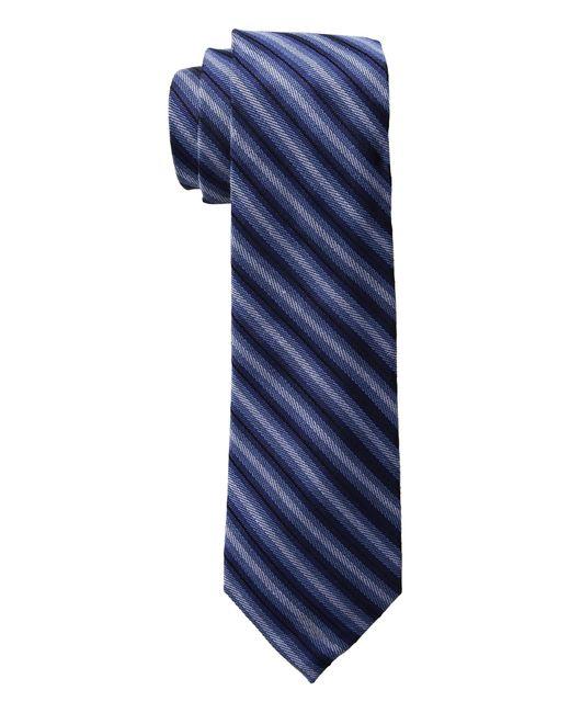 Lauren by Ralph Lauren | Blue Striped Silk-blend Tie for Men | Lyst