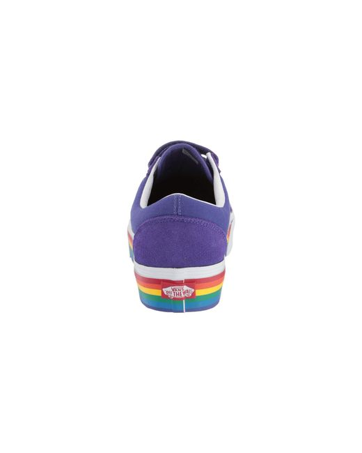 398ea169ec2 Lyst - Vans Old Skool V Platform in Purple - Save 7%