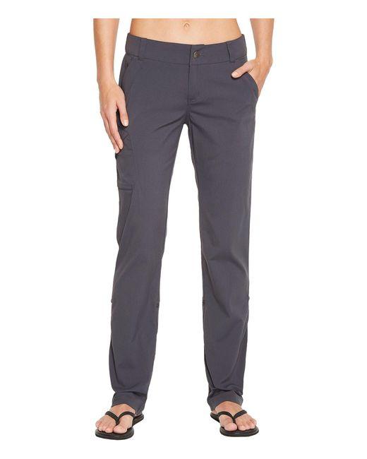 Marmot - Gray Lainey Pants (black) Women's Casual Pants - Lyst
