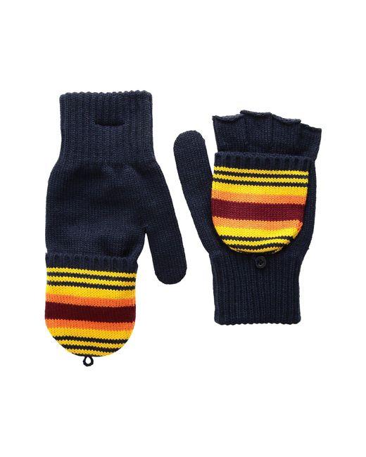 Pendleton - Blue National Park Mitten (badlands Stripe) Wool Gloves - Lyst