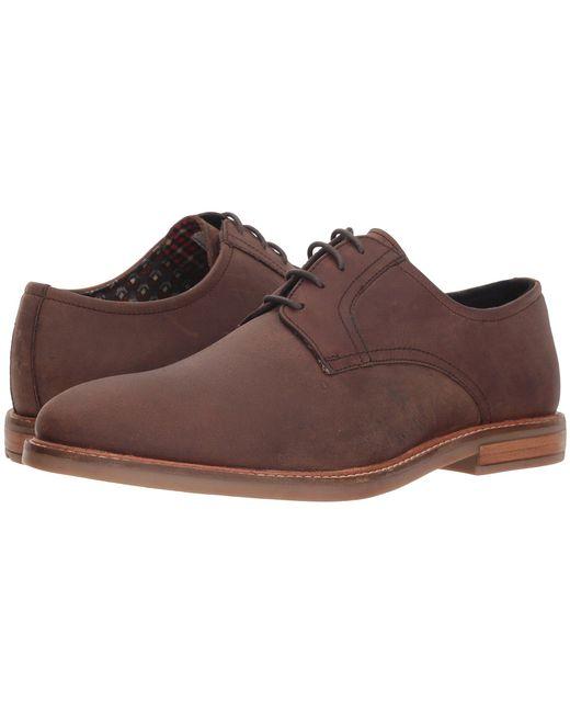 Ben Sherman - Birk Plain Toe (brown 2) Men's Lace Up Casual Shoes for Men - Lyst