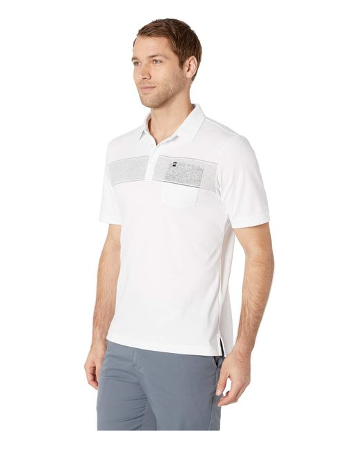 2dd66b55 ... Lyst Travis Mathew - Straight Biz Polo (white) Men's Clothing for Men  ...