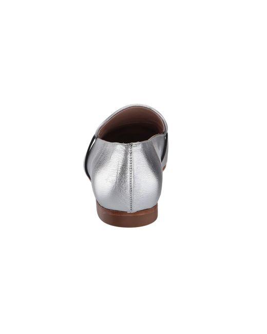 fede85d07f2 ... Lyst Stuart Weitzman - Preston (silver Crack Metallic Goat) Women s  Shoes ...