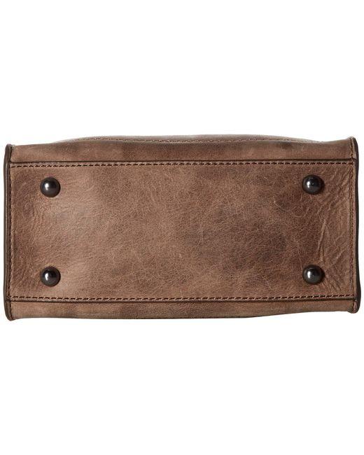 133252382652 ... Frye - Brown Demi Mini Satchel (silver Metallic) Satchel Handbags -  Lyst ...