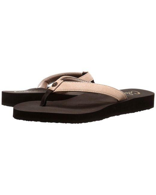 Cobian - Skinny Bounce (black) Women's Sandals - Lyst