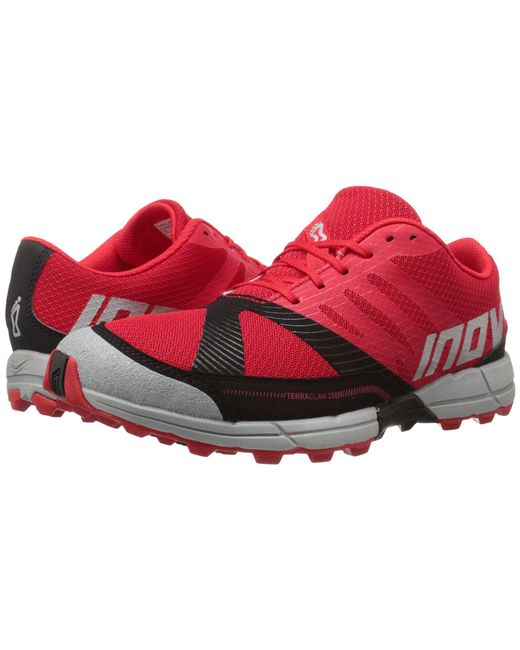 Inov-8 - Terraclawtm 250 (red/black/grey) Men's Running Shoes for Men - Lyst