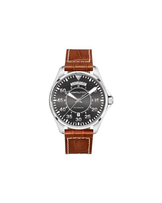 Hamilton - Khaki Pilot Day Date - H64615585 (gray) Watches for Men - Lyst