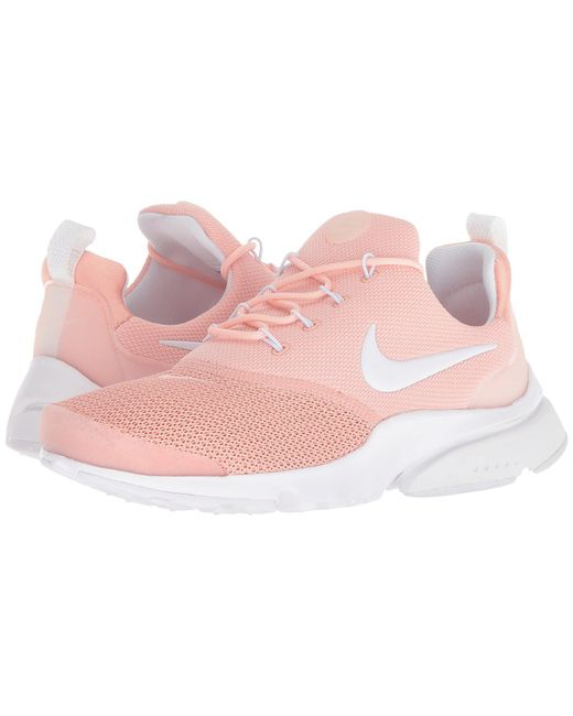 Nike - Pink Presto Fly (white/barely Grape/twilight Pulse) Women's Classic Shoes - Lyst