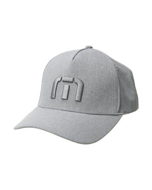 Travis Mathew - Gray Top Shelf (light Grey) Baseball Caps for Men - Lyst