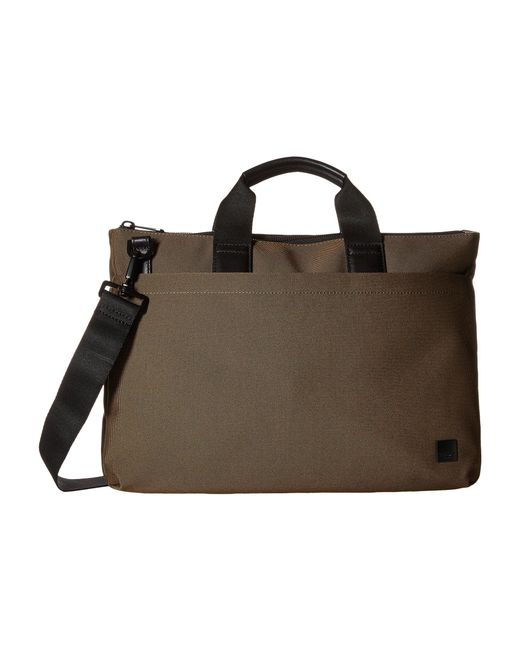 Knomo - Brown Oxberry Laptop Briefcase for Men - Lyst