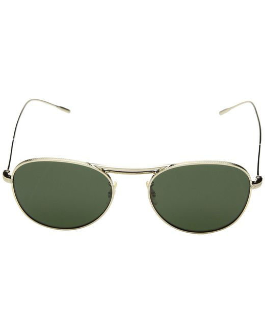 c43bb742cf5 ... Oliver Peoples - Green Cade (brushed Gold dark Tortoise Black graphite  Gold Mirror ...