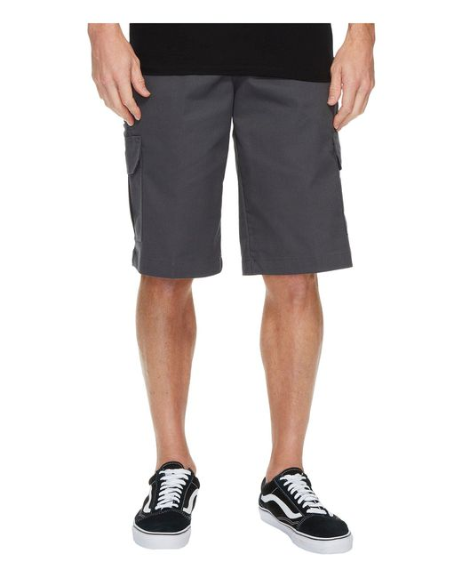 Dickies - Gray 13 Relaxed Fit Mechanical Stretch Cargo Shorts (dark Navy) Men's Shorts for Men - Lyst