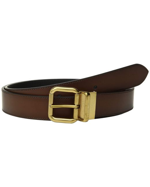 ee32649cc2f2 COACH - Multicolor 32 Mm Jeans Buckle Cts reversible Burnished Leather Belt  (multi 1 ...