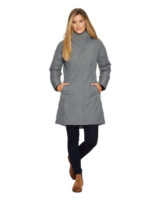 The North Face - Gray Arctic Parka Ii (urban Navy) Women's Coat - Lyst