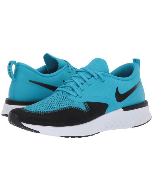 hot sale online 693f9 1a6a9 Nike - Blue Odyssey React Flyknit 2 (black white) Men s Running Shoes for  ...