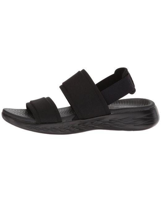 6077f8f9e67c Lyst - Skechers On-the-go 600 - Foxy (black) Women s Shoes in Black
