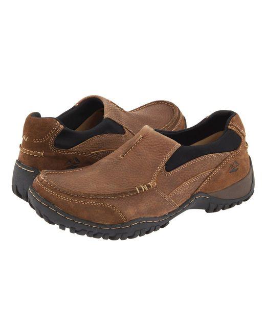 Nunn Bush - Brown Portage Slip-on Casual All Terrain Comfort (prairie Beige Leather) Men's Slip On Shoes for Men - Lyst