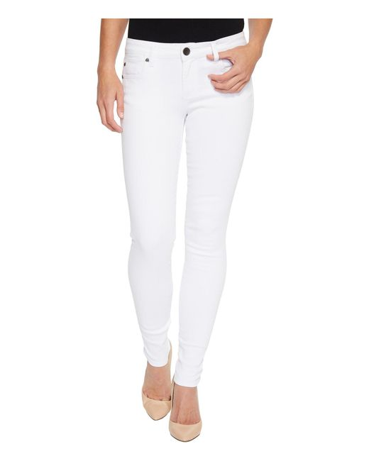Kut From The Kloth - Mia Toothpick Skinny In Optic White (optic White) Women's Jeans - Lyst