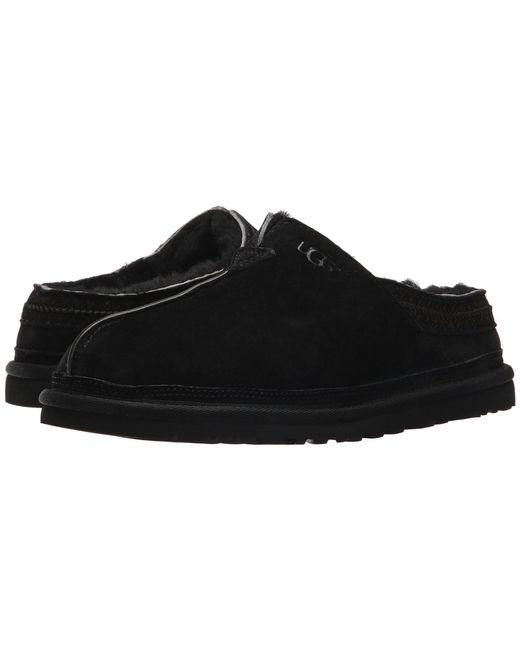 Ugg - Black Neuman (chestnut) Men's Clog Shoes for Men - Lyst