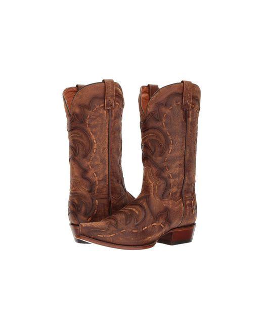 Dan Post - Hensley (tan/brown) Cowboy Boots for Men - Lyst