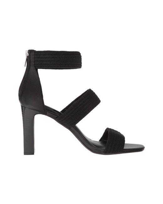 f8b8a0c2d921 ... Steven by Steve Madden - Black Jelly Stretch Dress Sandals - Lyst ...