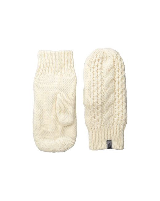 The North Face | Natural Cable Knit Mitt | Lyst