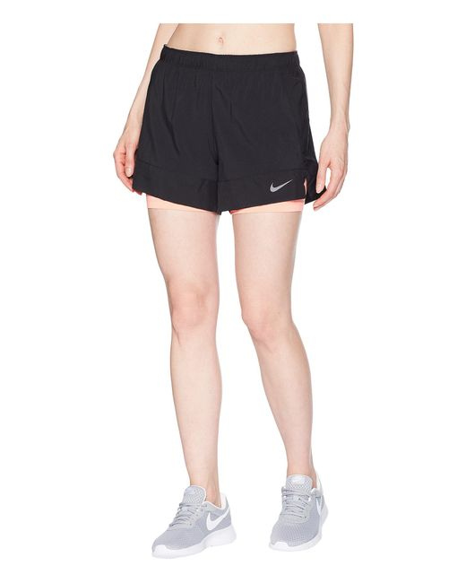 1f2c7c4b94ea Lyst - Nike Flex 2-in-1 Short (dark Grey black black) Women s Shorts ...