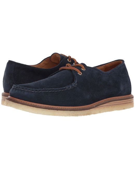 Sperry Top-Sider - Gold Cup Captain's Ox Crepe Suede (blue) Men's Shoes for Men - Lyst