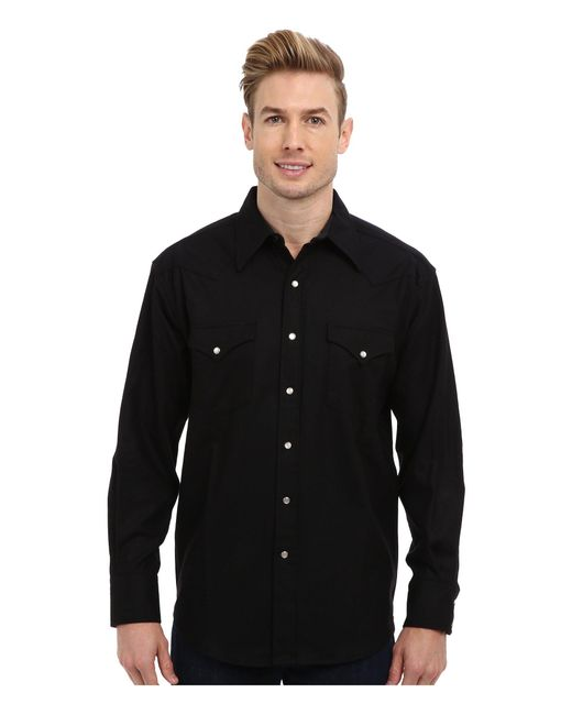 Pendleton - Black L/s Canyon Shirt for Men - Lyst