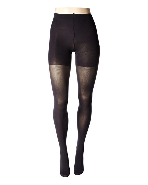 lyst spanx luxe leg shaping tights bittersweet hose in gray