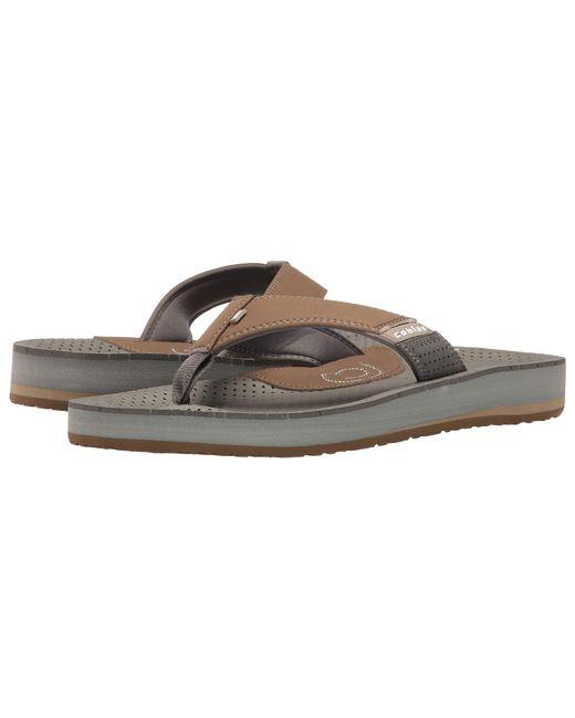 Cobian - Brown Arv2 (blue) Men's Flat Shoes for Men - Lyst